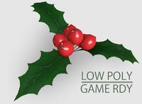 Low Poly Mistletoe