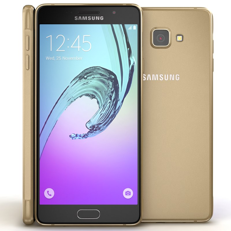 3d model samsung galaxy a7 2016