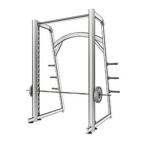 3d powertec fitness smith model