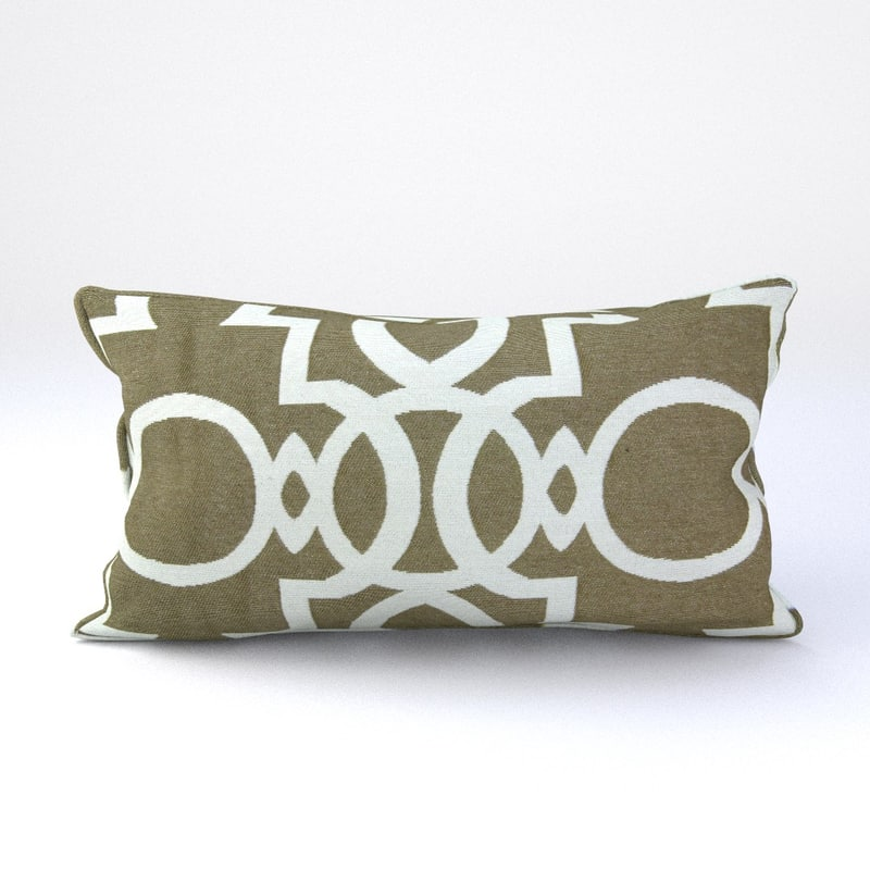 3ds max piped pillow