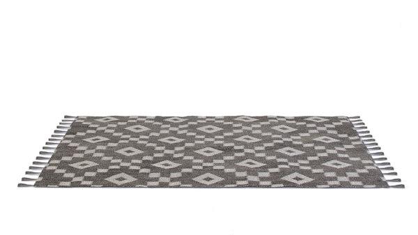 realistic rug fringe 3d obj