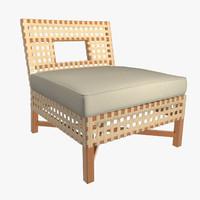 armchair 10 3d max