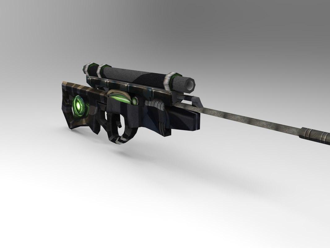 max futuristic weapons