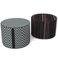 missoni home pouf 3d model