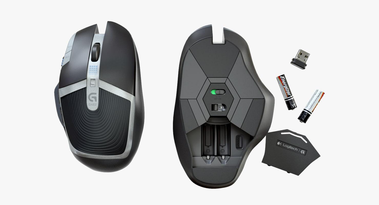 Logitech G602 Computer Mouse