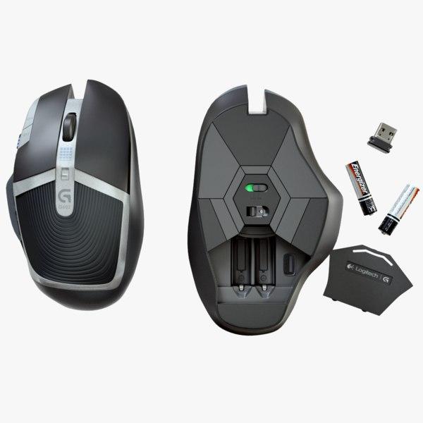 3d logitech g602 mouse