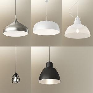 3d pendent light