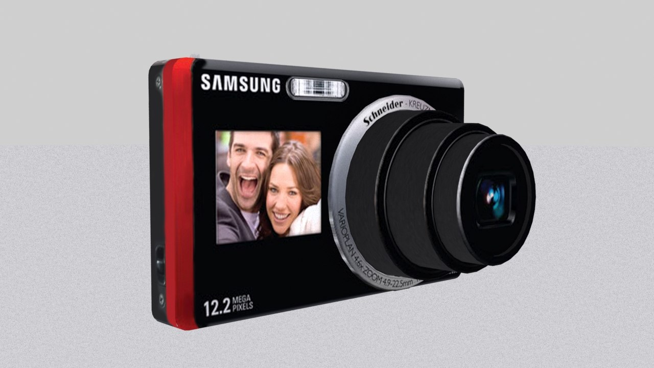 samsung st500 digital camera 3d max