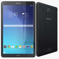 3d samsung galaxy tab e model