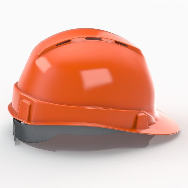 3ds max construction helmet v2