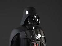 Star Wars Darth Vader Rigged for Maya