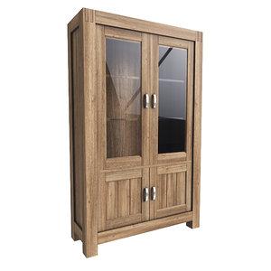 modern cabinet 3ds