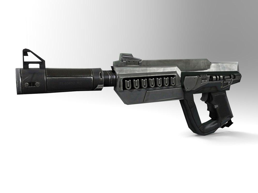 maya short gun