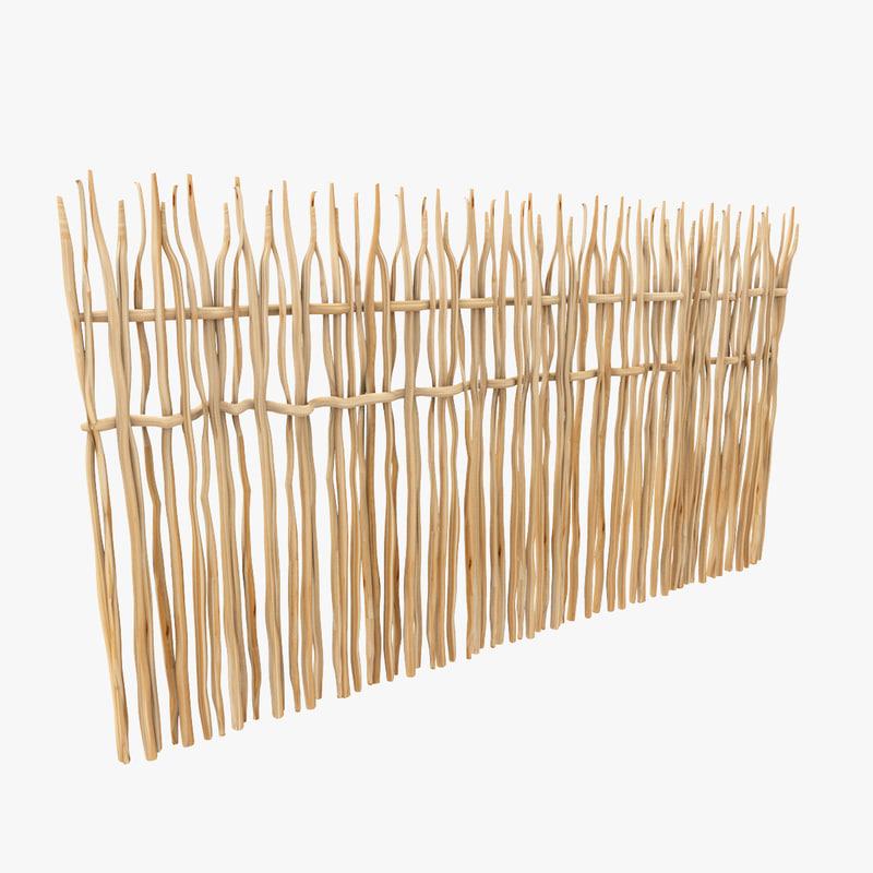 liana wood door 3d 3ds