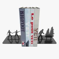 modern bookends bigfoot books max
