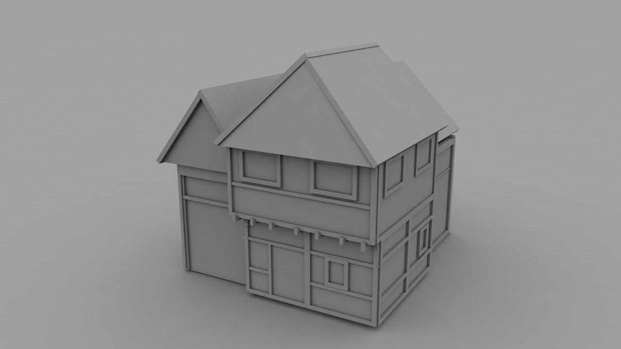 house fa c4d