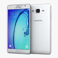 3d samsung galaxy on7 white