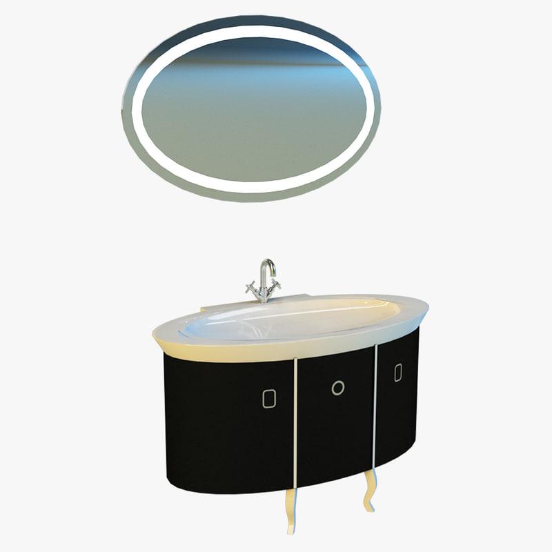 3d washbasin basin