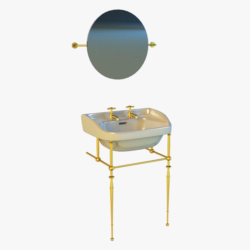 washbasin basin 3d model