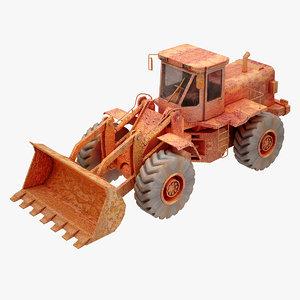 construction loader obj