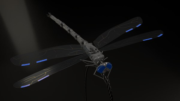 c4d dragonfly drone