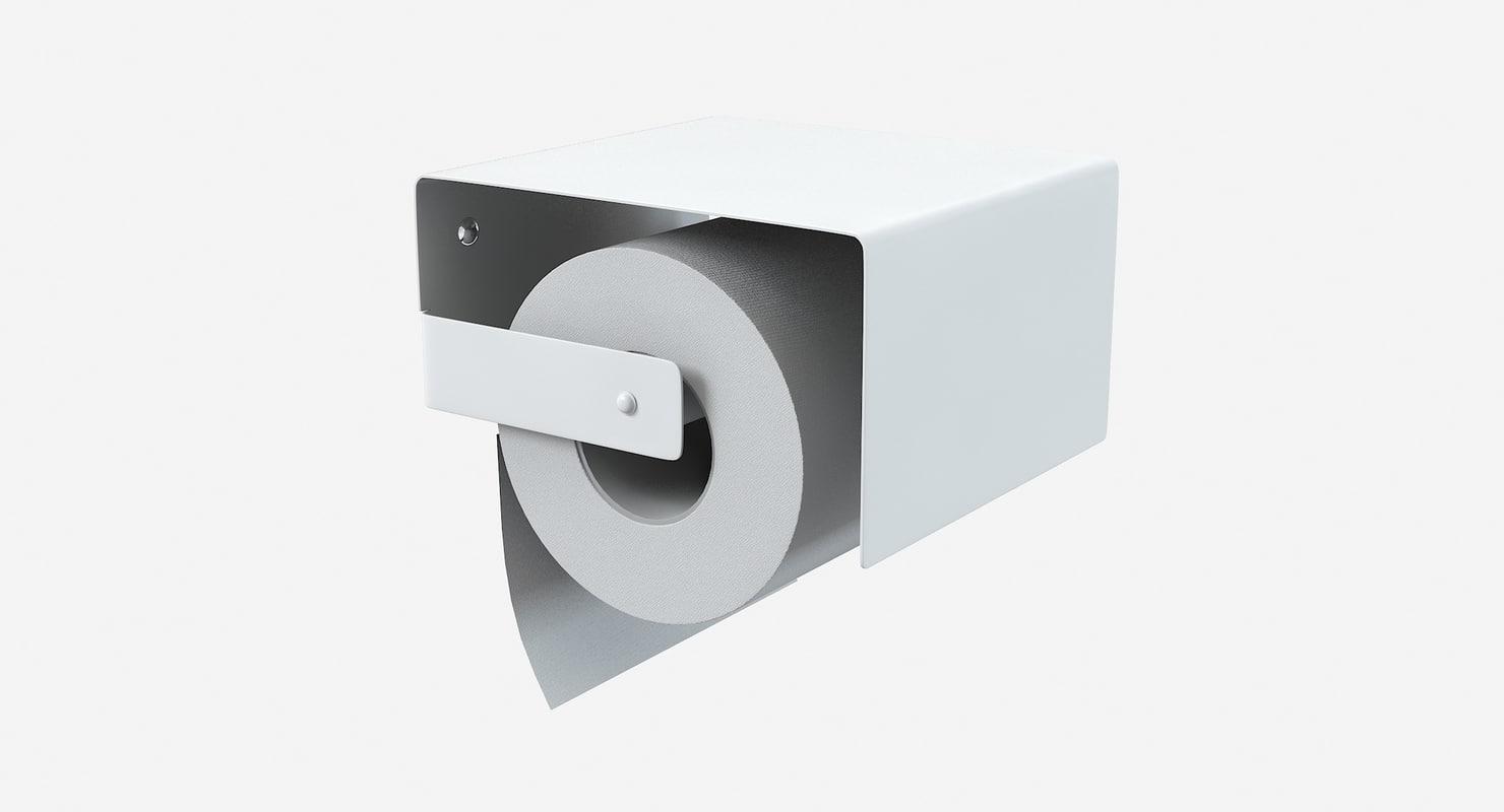 qgini roll holder 3d model