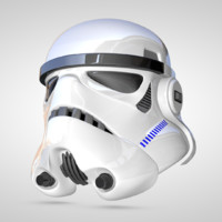 3d stormtrooper helmet model