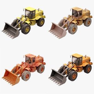 3d model construction loader