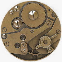 Steampunk button A