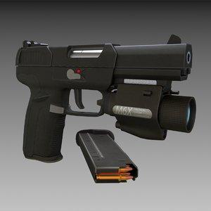 fn seven 3d model