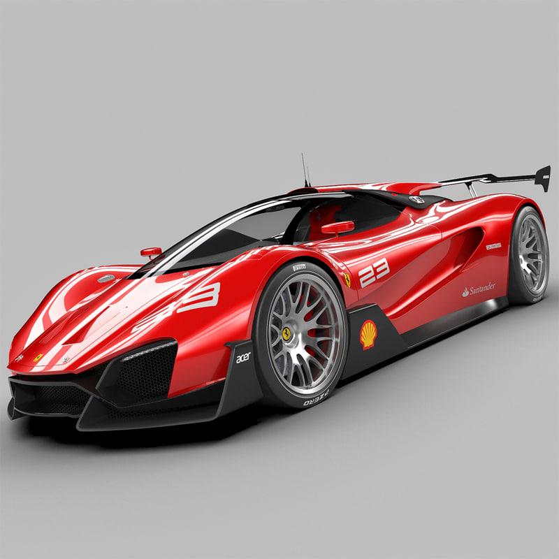 3d Ferrari Xezri Concept