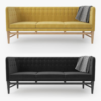 mayor sofa arne jacobsen 3d max