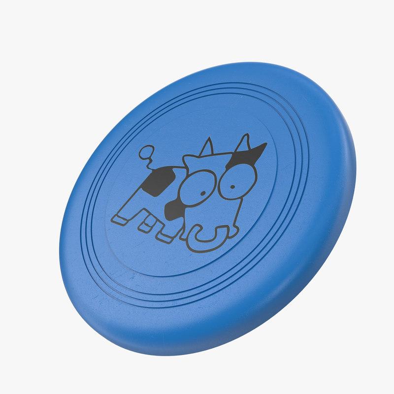 3d model frisbee
