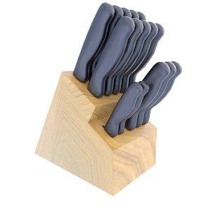 3d knife set