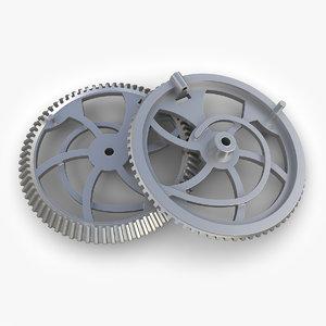 steampunk gear 31 3ds