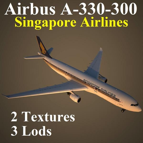 airbus sia 3d model