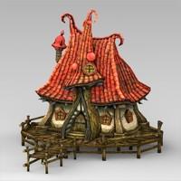 Fantasy Water Hut