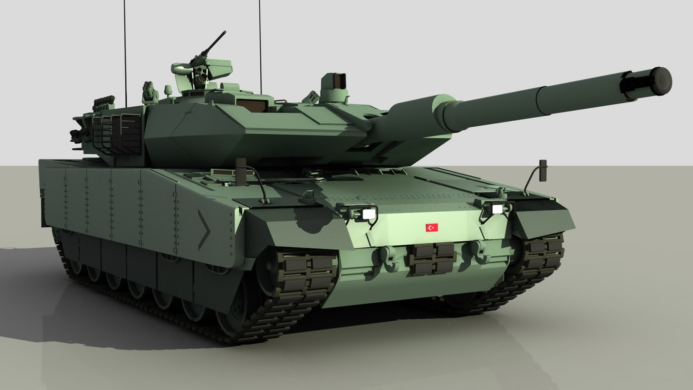 3d turkish main battle tank