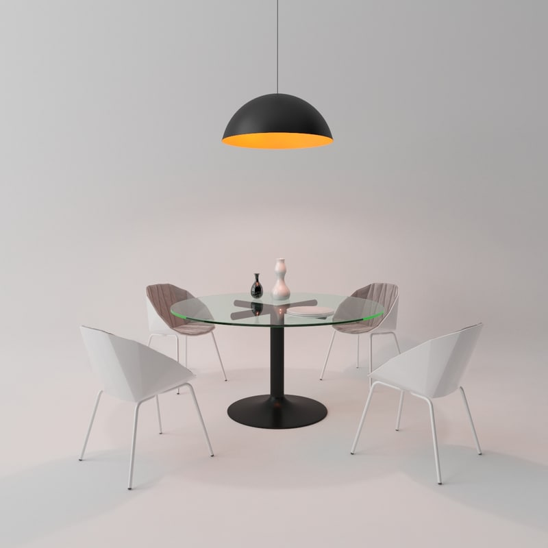 dining room set table max