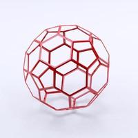 fullerene buckminst 3d max