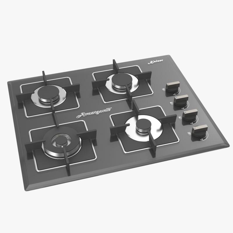 3d max cooktop -