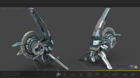 3d 3ds drone cybertech