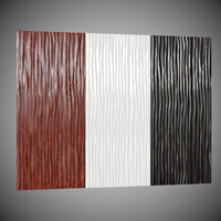 3D wall panel Leto