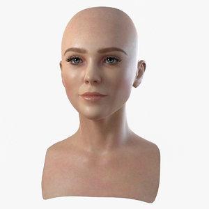 head woman 3 3d model