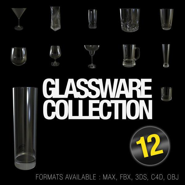 glass 12 3d max