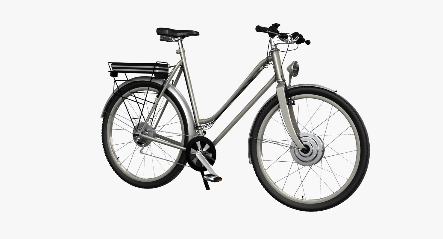 3d bike e-bike model