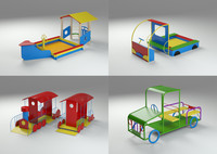 3d rides kids