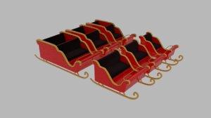 sleigh pack 3d 3ds