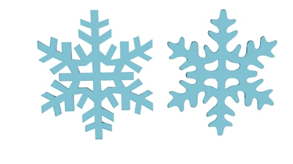 3d snow flake snowflake