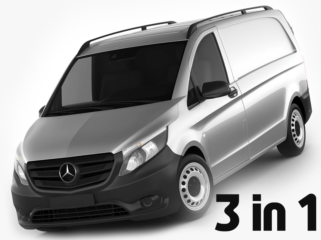 3d mercedes vito 2016 model. Black Bedroom Furniture Sets. Home Design Ideas